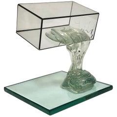 Art Glass Sculpture by Drew Smith, 1980