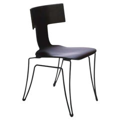 Donghia Anziano Occasional Chair in Ebonized