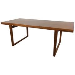 Midcentury Scandinavian Extendable Dining Table