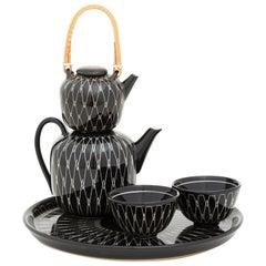 Tea Set Mid-Century Modern Design by Hedwig Bollhagen Emerged from the Bauhaus
