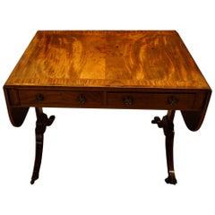 Geo III Mahogany Sofa Table