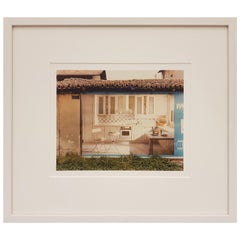 """1983 Luigi Ghirri Italian C-Print Vintage Photo """"Parma 1983"""""""