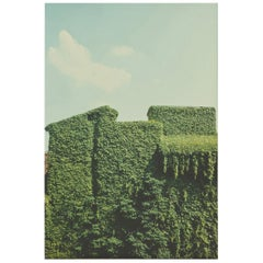 "1981 Luigi Ghirri Italian C-Print Vintage Photo ""Ferrara 1981"""