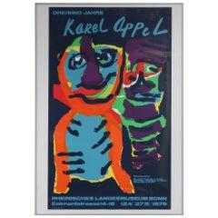 Karel Appel Silk Screen for the Rheinisches Landesmuseum Bonn, Germany, 1979