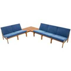 Torben Lind Modular Seating Group with Corner Table France & Son 1965