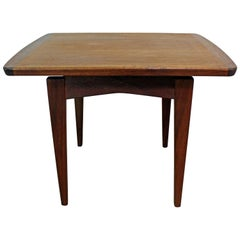 Midcentury Danish Modern Jens Risom Rosewood End Table