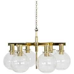 Midcentury Chandelier by Hans-Agne Jakobsson