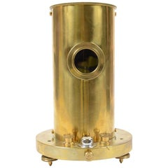 Brass Galvanometer Made in England in the Early 1900