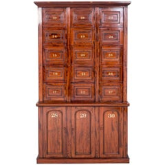 Early 19th Century Solicitors Cabinet in Mahogany