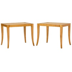 Pair of midcentury stools by Frits Henningsen
