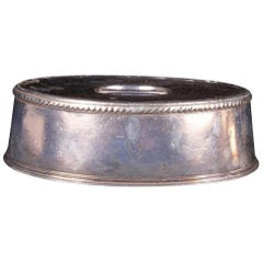 Wallace Silver Soldered Entree Lid with Carlyle Hotel Logo, circa 1930s