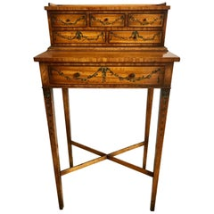 Lovely Petite Edwardian Style Desk or Dressing Table