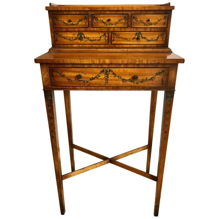 Lovely Petite Edwardian Style Desk or Dressing Table