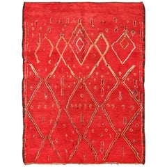Double-Sided Vintage Moroccan Rug
