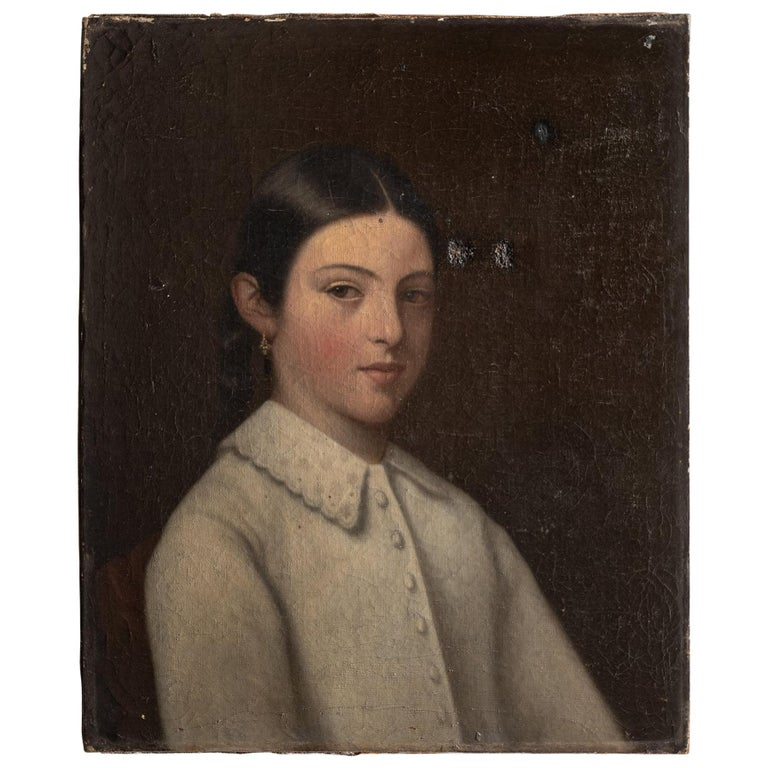 Portrait of a Young Girl, circa 1900