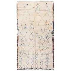 Geometric Vintage Moroccan Rug