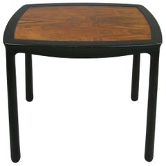 Vintage Mahogany and Rosewood Table by Edward Wormley for Dunbar