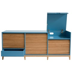 Tapparelle by Colé, Minimal Sideboard Inspired to Tradition