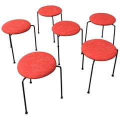 Clifford Pascoe Stacking Tripod Stools
