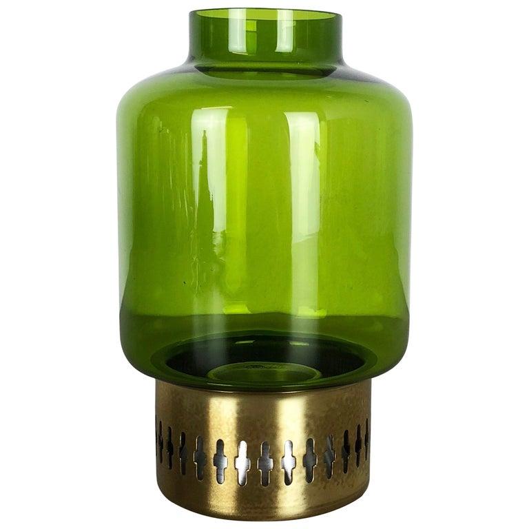 Vintage 1960s Brass Candleholder by Hans-Agne Jakobsson Made in Sweden