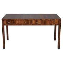 Mid-Century Modern Inspired Writing Desk Table
