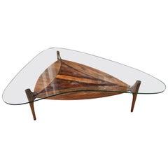 Lane Style Boomerang Coffee Table