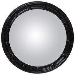 Ebonized Convex Mirror