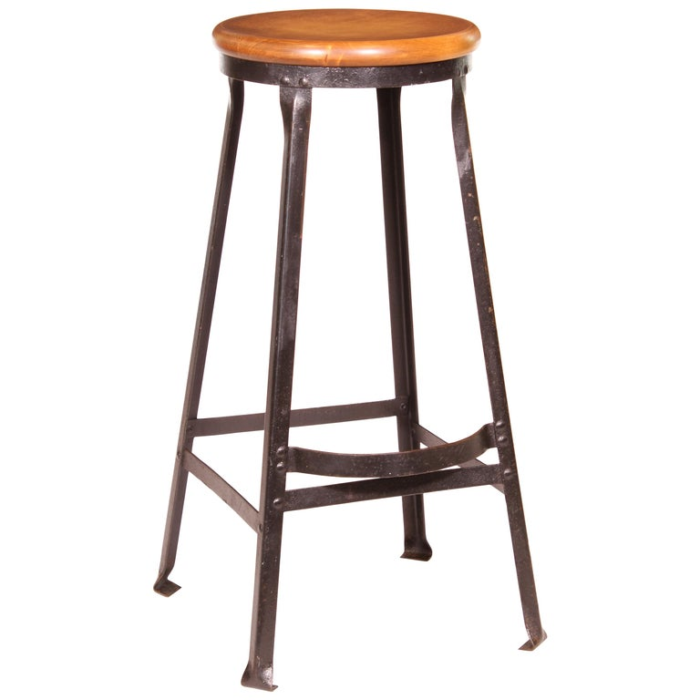 Factory Shop Bar Stool For Sale