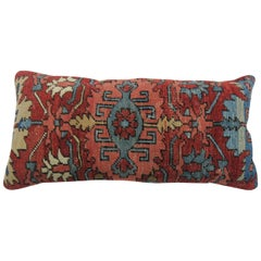 Antique Persian Serapi Bolster Pillow