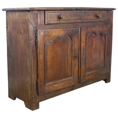 Antique Two-Door Chestnut Buffet