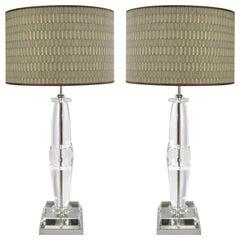 Laudarte Srl Leo Marai Golia Table Lamp by Attilio Amato, Pair Available