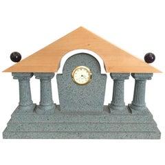 Postmodern Mantel Clock Style of Michael Graves