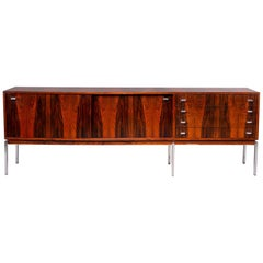 Mid Century French Rosewood Cabinet or Credenza