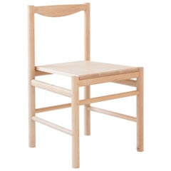 Wood Range Dining Chair in Hard Maple by Fort Standard
