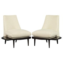 Unique Mid-Century Modern Parlor Drinking Lounge Chairs