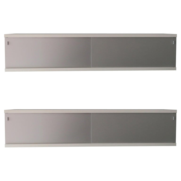 Pair of Minimalist Floating Sideboards or Credenzas by Horst Bruning for Behr For Sale