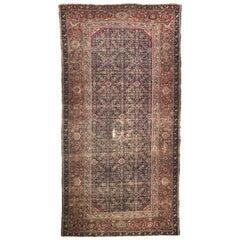 Beautiful Antique Persian Mahal Rug