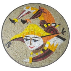 Evelyn & Jerome Ackerman Wall, Mosaic Plaque /Panel, Era Studio