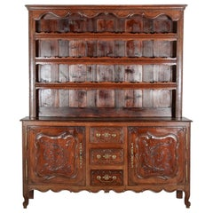 19th Century French Buffet or Open Dresser
