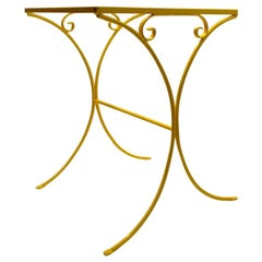 Wrought Iron Patio Side Table Attributed to Salterini