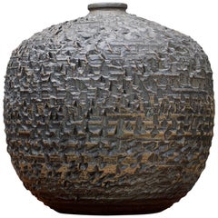 Stan & Ruth Walters Huge Ceramic Pot Mid-Century Modern Vessel Studio AP Pottery