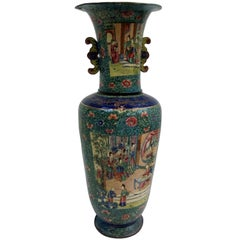 18th Century French Chinoiserie Vase
