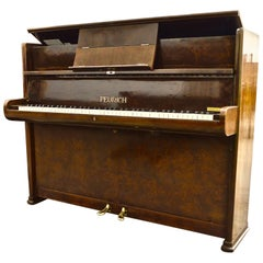 German Made Feurich Piano, Bahaus Designed, Made in 1938