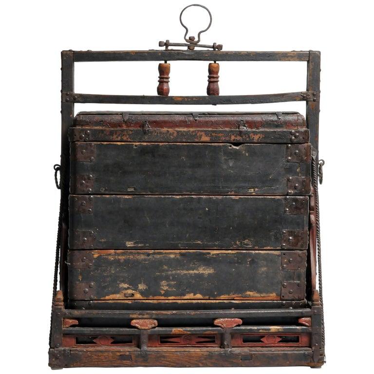 19th Century Chinese Food Box