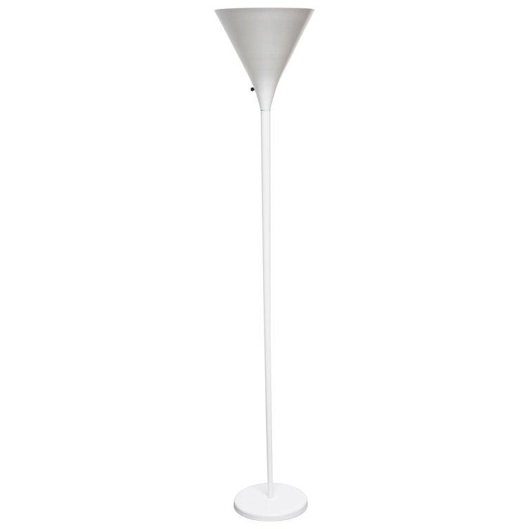 Minimalist Torchère Floor Lamp by Nessen Studio