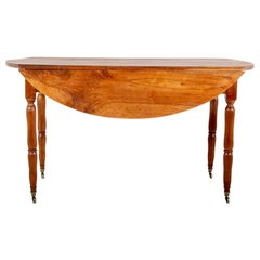 19th Century French Dropleaf Table