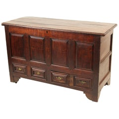 English Oak Mule Chest