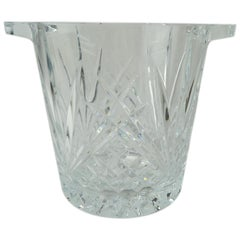 Cut Crystal Ice Bucket with Handles