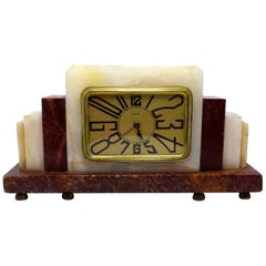 1930s Art Deco French Clock by Dep