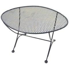 Salterini Oval Eyeball Garden Patio Table